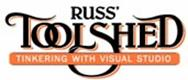 Russ' Toolshed - Tinkering with Visual Studio